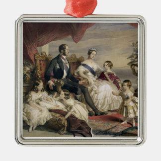 Drottning Victoria (1819-1901) och Prince Albert Julgransprydnad Metall