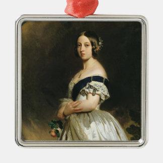 Drottning Victoria 1842 Julgransprydnad Metall