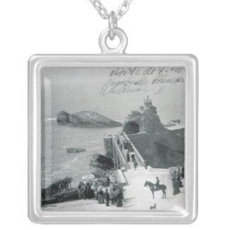 Drottning Victoria på den franska kusten Silverpläterat Halsband