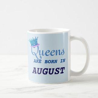 Drottningar är bördiga Aug PERSONIFIERAR redigerar Vit Mugg