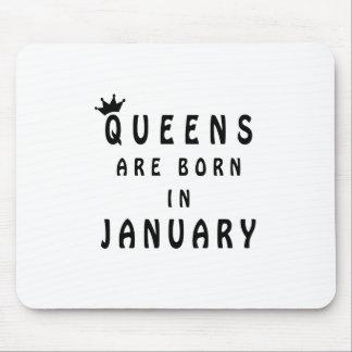 Drottningar är bördiga Januari Musmatta
