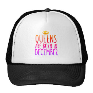 Drottningar är den bördiga December hatten Keps