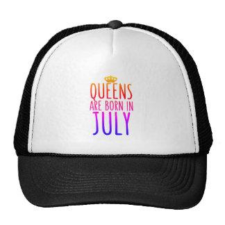 Drottningar är den bördiga Juli hatten Keps