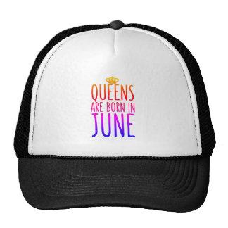 Drottningar är den bördiga Juni hatten Keps