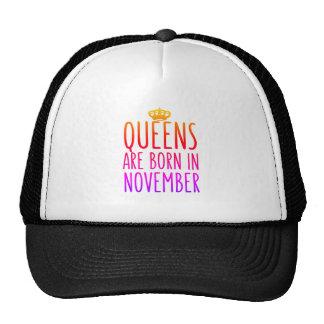 Drottningar är den bördiga November hatten Keps