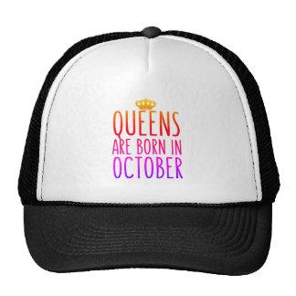 Drottningar är den bördiga Oktober hatten Keps