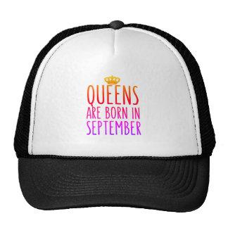 Drottningar är den bördiga September hatten Keps