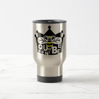 drottningbitravel mug rostfritt stål resemugg