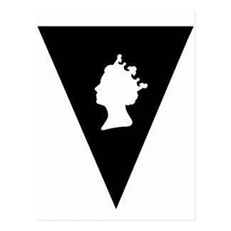 drottningelizabeth diamantjubileum vykort