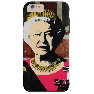DrottningElizabeth mobilt fodral Tough iPhone 6 Plus Skal