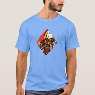 Drottningen av diamanter t-shirts