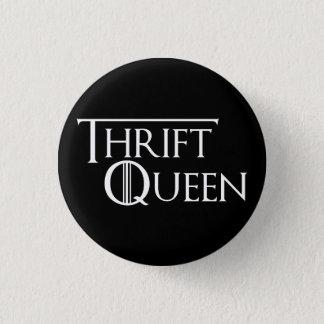 Drottningen av Thrifting knäppas Mini Knapp Rund 3.2 Cm