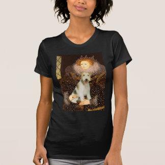 Drottningen Elizabeth mig - binda foxterriern #1 T-shirts