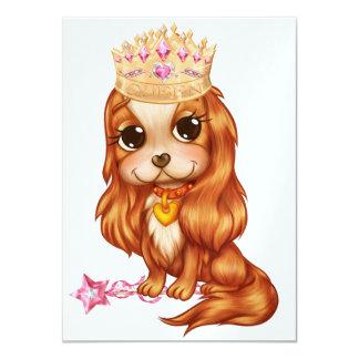 Drottningen önskar ett party! - SRF 11,4 X 15,9 Cm Inbjudningskort
