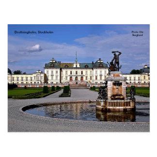 Drottningholm Stockholm, foto… Vykort