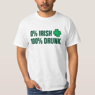 Drucken 0% irländare 100% tröjor