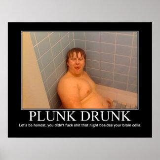 Drucken Plunk Poster