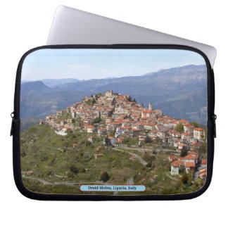 Druidrelikskrin, Liguria, italien Laptop Fodral