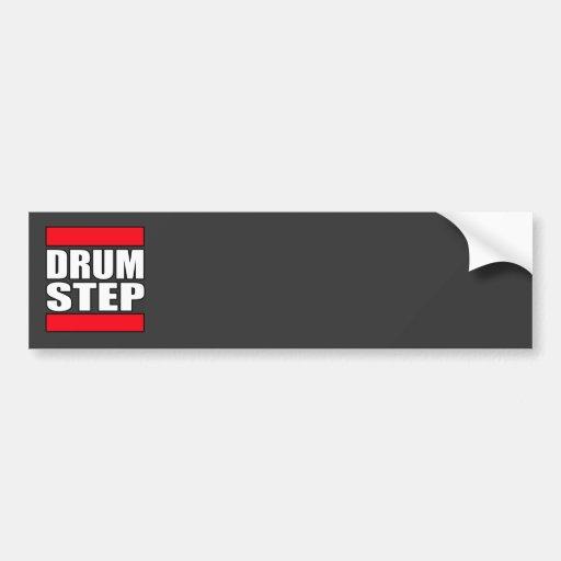 DRUMSTEP trummar och basen och Dubstep Bildekaler