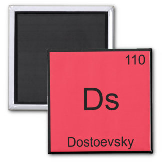 Ds - Utslagsplats för symbol för Dostoevsky rolig Magnet