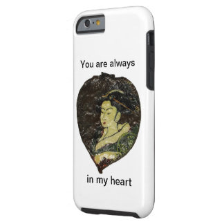 Du är alltid i min hjärta tough iPhone 6 fodral