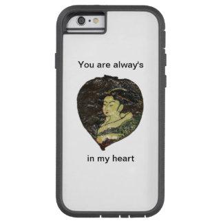 Du är alltid i min hjärta tough xtreme iPhone 6 fodral