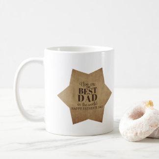 Du är den bäst pappan, fars dagkaffemugg kaffemugg