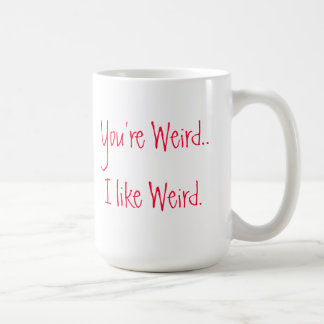 Du är den kusliga kaffemuggen kaffemugg
