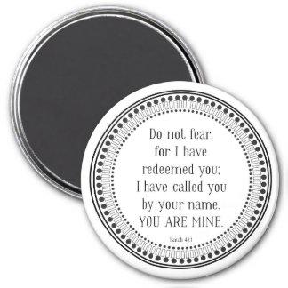 Du är den min svartvita scripturen magnet