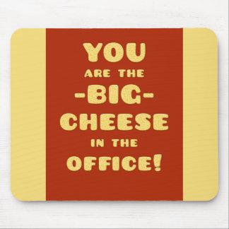 Du är den STORA OSTEN i kontoret Mus Mattor