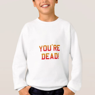 Du är död flammar tee