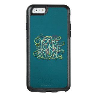 Du är en av oss nu grönt grafiskt OtterBox iPhone 6/6s skal