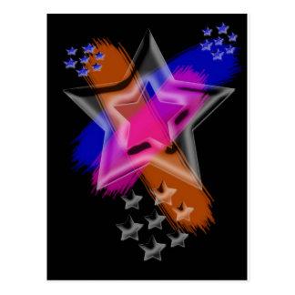 Du är en stjärna vykort