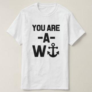 Du är en Wankerrolig tröja