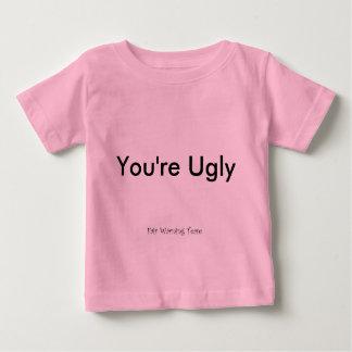 Du är ful t-shirt