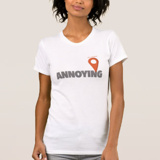 Du är här - förarga t-shirt