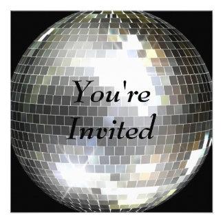 Du är inbjuden - diskoboll skräddarsydda inbjudan