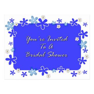 Du är inbjuden till en möhippa vykort