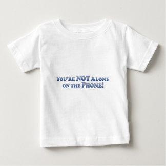 Du är inte på den mobila ensamen - Mult-Produkter T-shirt