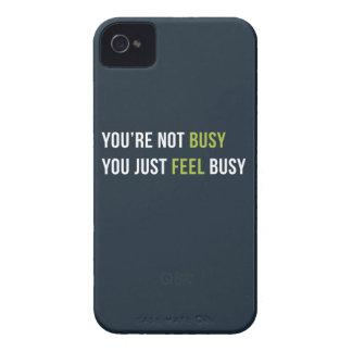 Du är inte upptagen. Dig precis upptagen Case-Mate iPhone 4 Fodral
