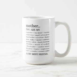 Du är mors dagmuggen kaffemugg