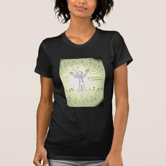 du är naturen! t shirt