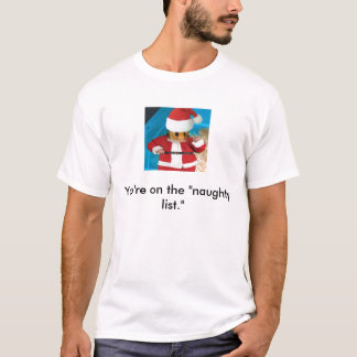 """Du är på """"det styggt listar."""",  PERMENANTLY Tshirts"""