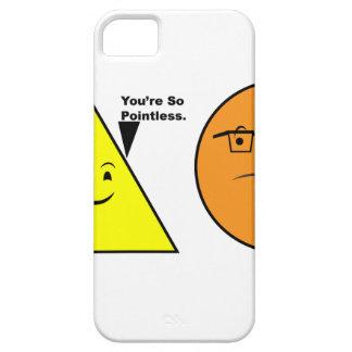 Du är så Pointless - rolig geometri iPhone 5 Cases