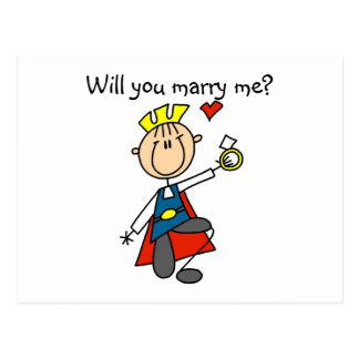 Du Att gifta sig för Prince Charmig Ska mig Vykort