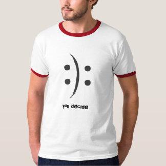Du avgör den moderna t-skjortan tee shirt