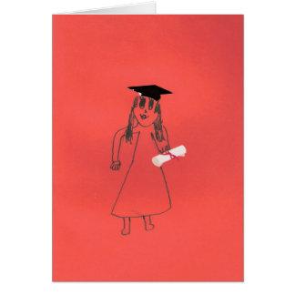 Du avlade examen! hälsningskort