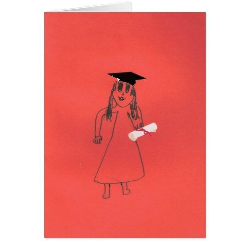 Du avlade examen! kort