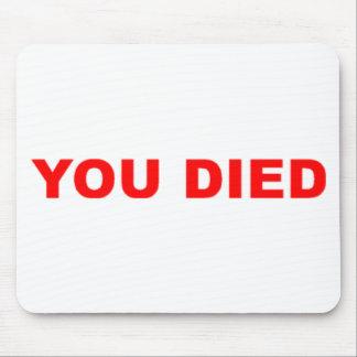 Du dog slogan musmattor
