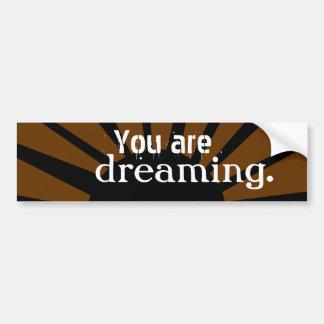 Du drömm bildekal
